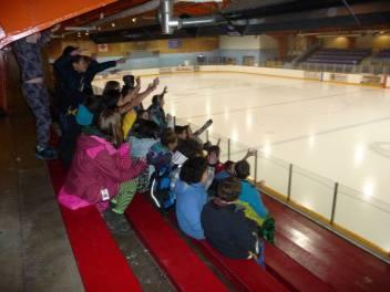 At the rink Grade 7