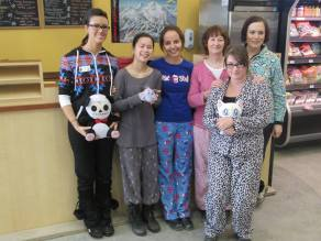 Robinsons gang in jammies