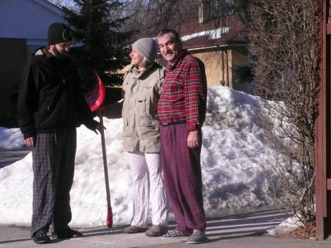 Chicho, Daniella & Martin in Toronto