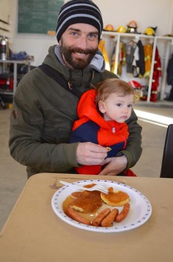 pancake breakie tristan and simon