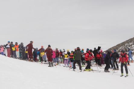 Pyjama Ski-4 photo MIke Gere